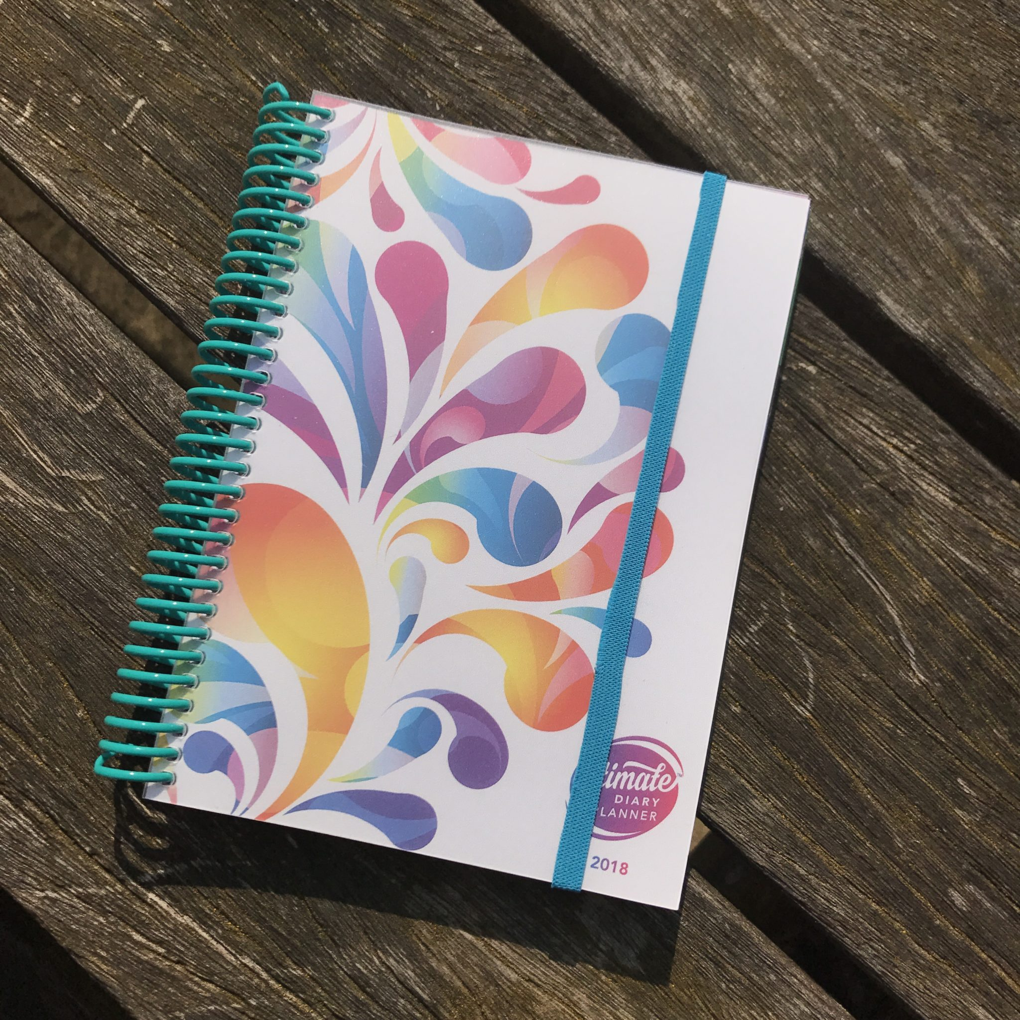 Ultimate Diary Planner 2018 Colour Burst
