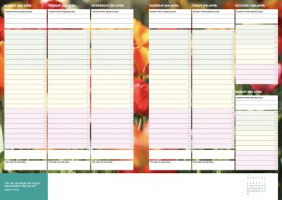 Week spread 1