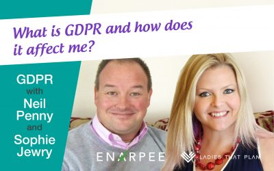 What is GDPR and how does it affect me? | With Neil Penny & Sophie Jewry