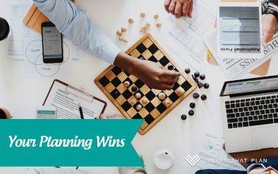 Planning Wins
