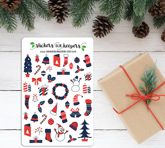 Awesome Planner Stickers For Christmas